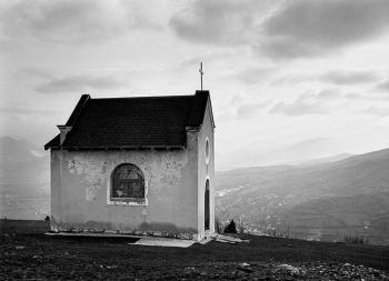 Chapel in the hills overlooking Travnik, Bosnia, 2003